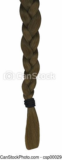 Hair Braid - csp0002947