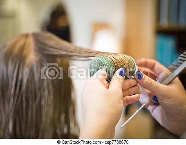 Hair care close-up - csp7788670