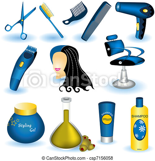 Hair care collection - csp7156058