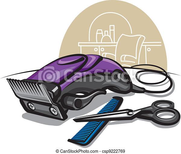 Hair clipper eps vectors - Search Clip Art, Illustration ...