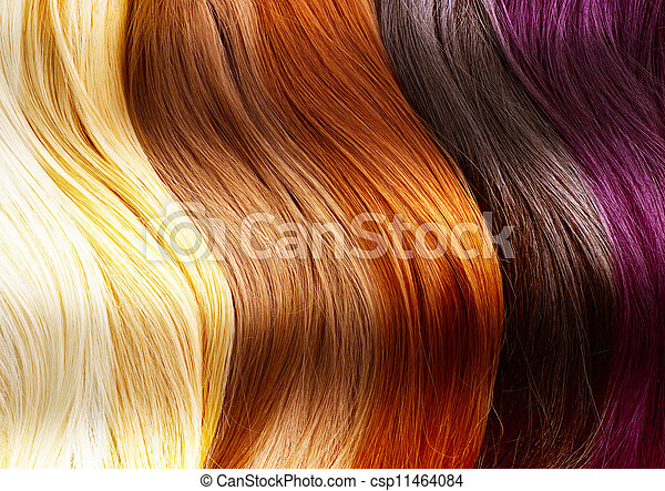 Hair Colors Palette - csp11464084