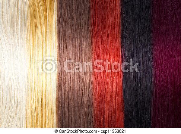 Hair Colors Palette - csp11353821