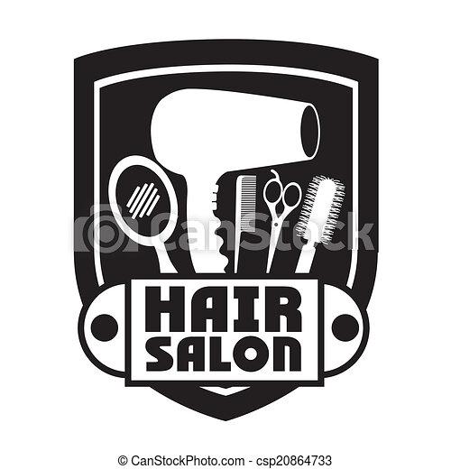 Hair salon design - csp20864733