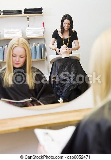 Hair Salon - csp6052471