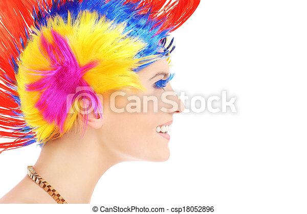 Hair style - csp18052896