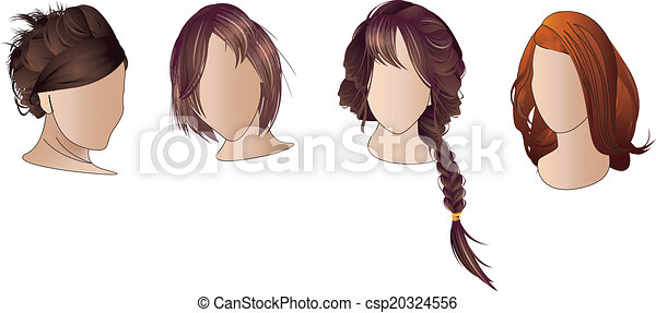 Hair styles - csp20324556