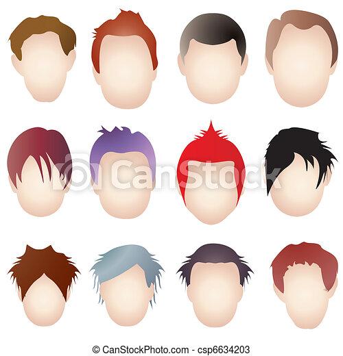 Hair styles - csp6634203