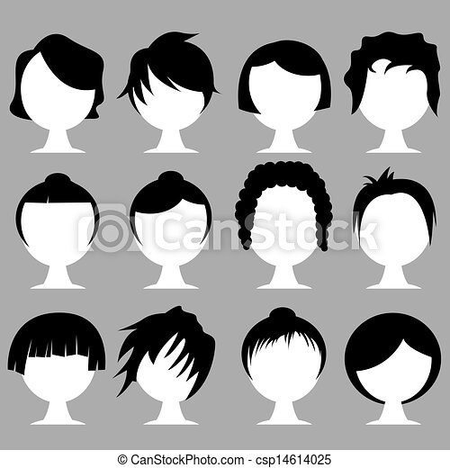 hair styles - csp14614025