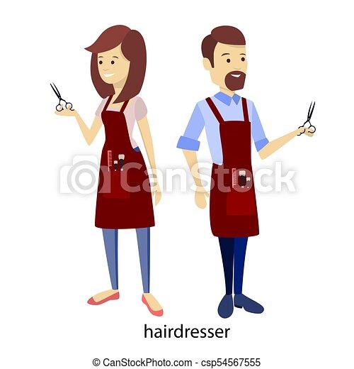 Hair stylist clipart   Etsy