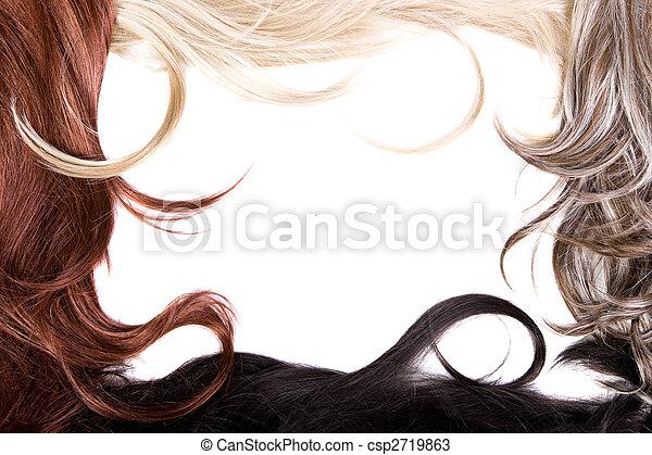 hair texture - csp2719863