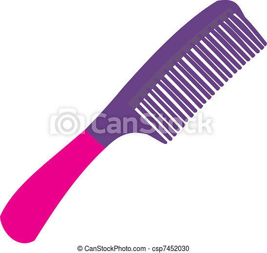 hairbrush a stylish hairbrush vector clipart search illustration rh canstockphoto com hair brush clip art images hair color brush clip art
