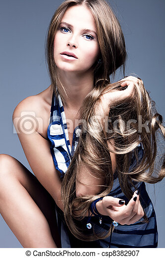 hairstyle - csp8382907
