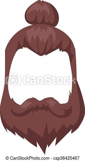 hairstyles beard and hair face cut mask flat cartoon clip art rh canstockphoto com hair clip art free download hair clip art images