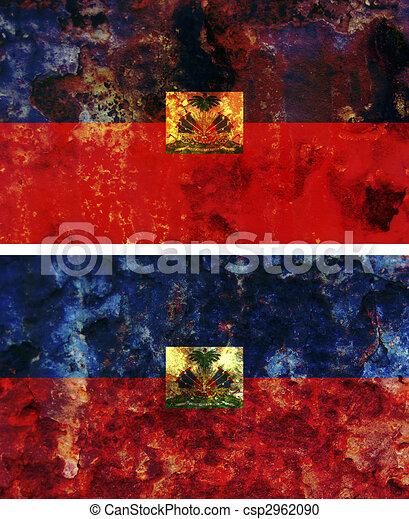 Haitian Flag Art