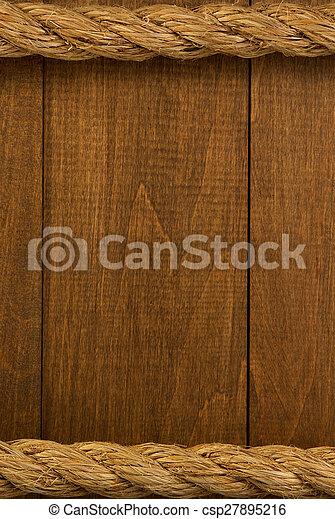 hajó, erdő, fonatok - csp27895216