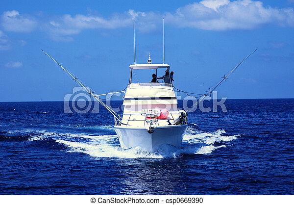 halászat, sport, csónakázik - csp0669390