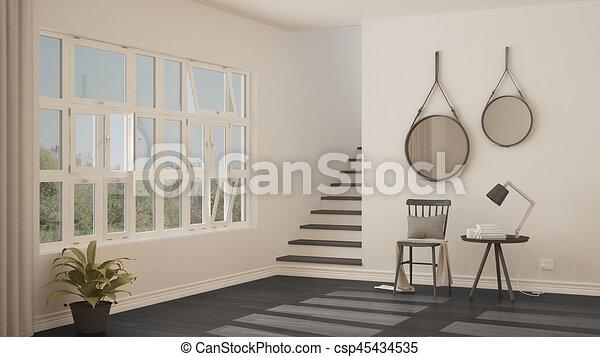 Hal moderne scandinavische ontwerp hallway minimalistic