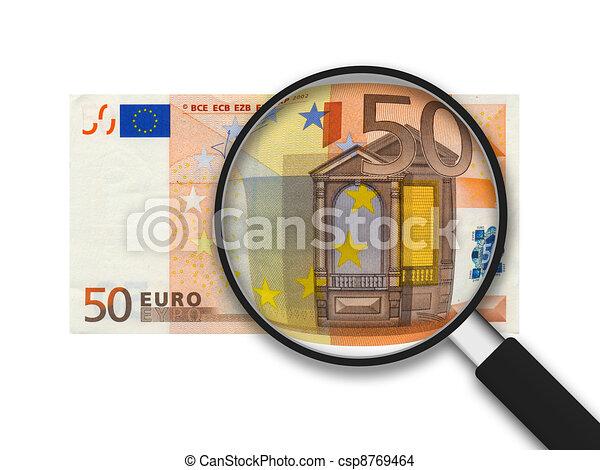 halabarda, 50, euro - csp8769464