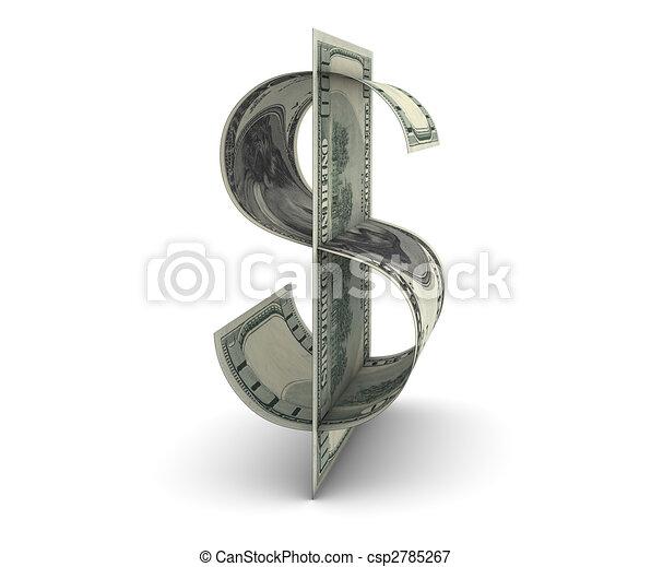 halabarda, dolar - csp2785267