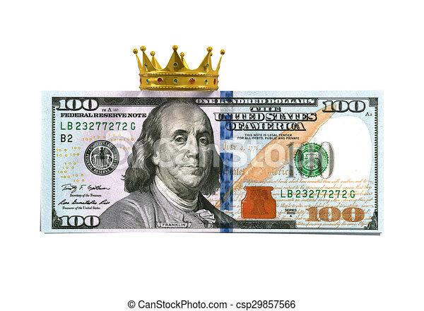 halabarda dolara, korona - csp29857566