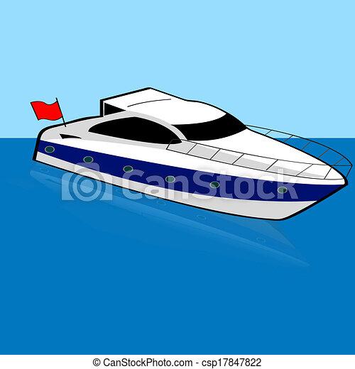 halad hajózik - csp17847822