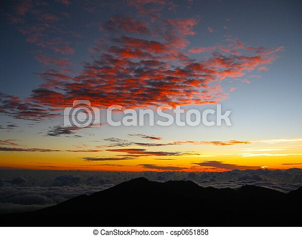 haleakala sunrise - csp0651858