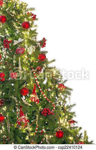 Half Christmas Tree.Half Christmas Tree