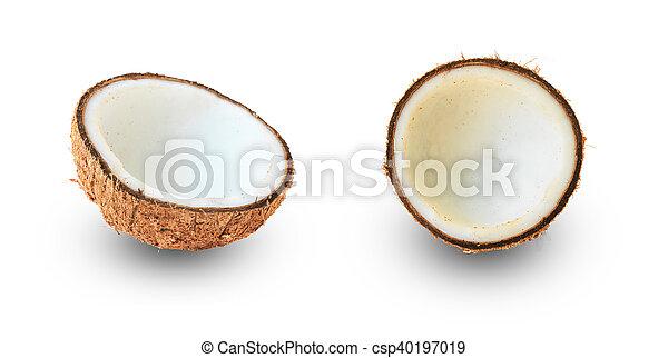 Half coconut - csp40197019