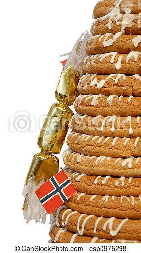 Half Ring Cake & Cracker - csp0975298
