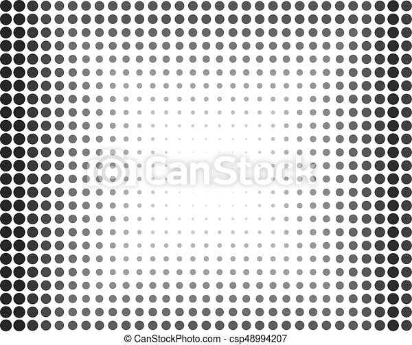Pop art style pattern with small circles dots design element for web