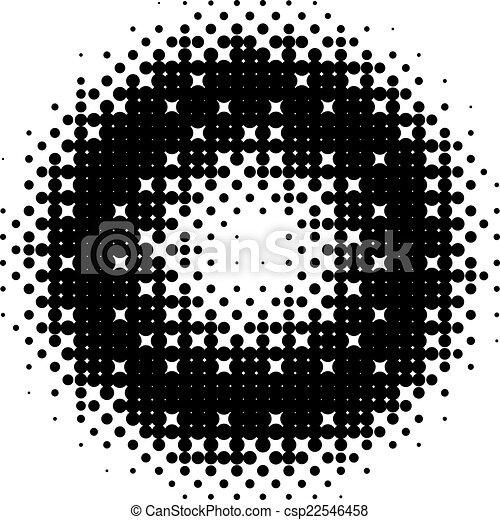 Halftone vector background - csp22546458