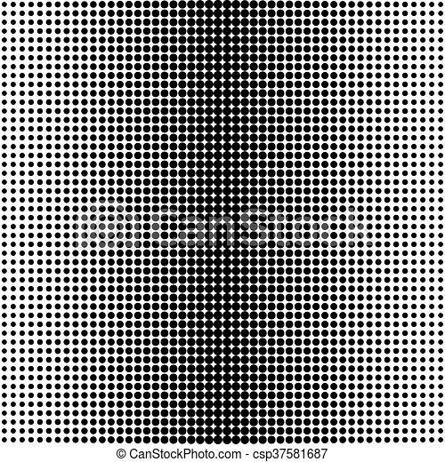 Vector medio punto. - csp37581687