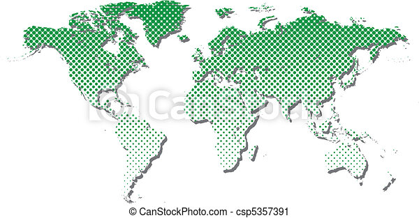 Halftone world map halftone world map csp5357391 gumiabroncs Image collections