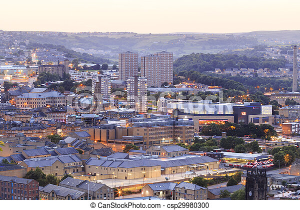 Halifax at dusk - csp29980300