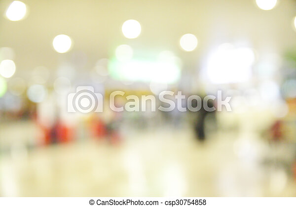 Hall of airport - csp30754858
