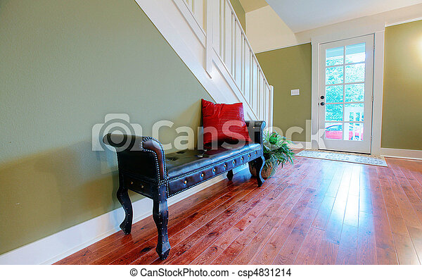 Simple Entry Way Bench