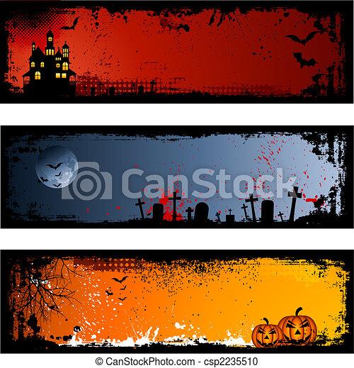 halloween, arrière-plans - csp2235510