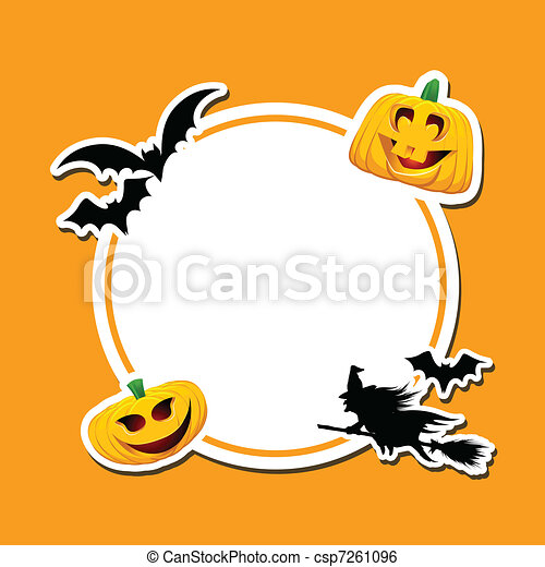 Halloween background - csp7261096