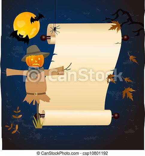 Halloween background - csp10801192
