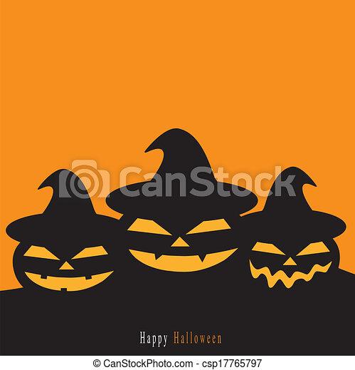 Halloween background - csp17765797