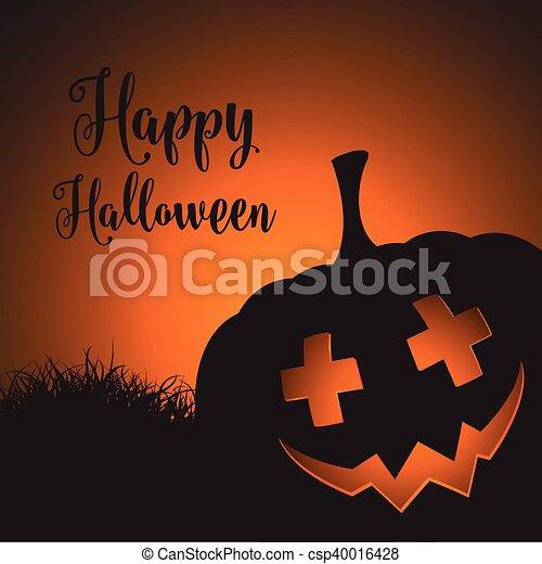 halloween background - csp40016428