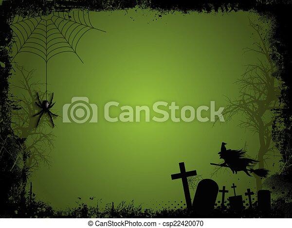 Halloween background - csp22420070