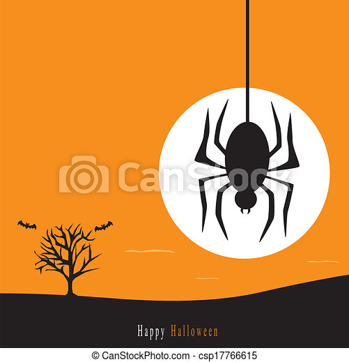 Halloween background - csp17766615
