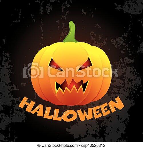 Halloween background - csp40526312