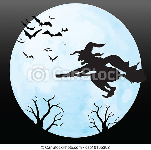 Halloween background - csp10165302