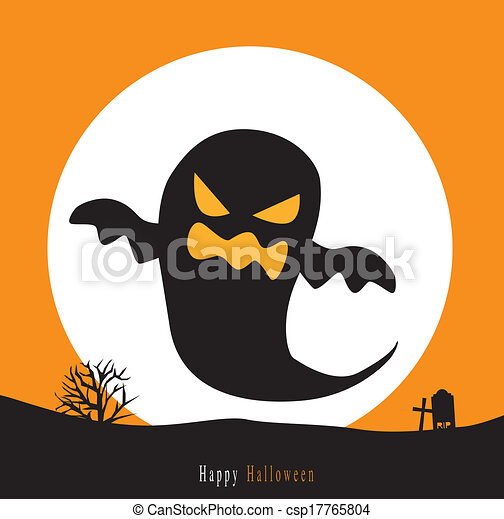 Halloween background - csp17765804