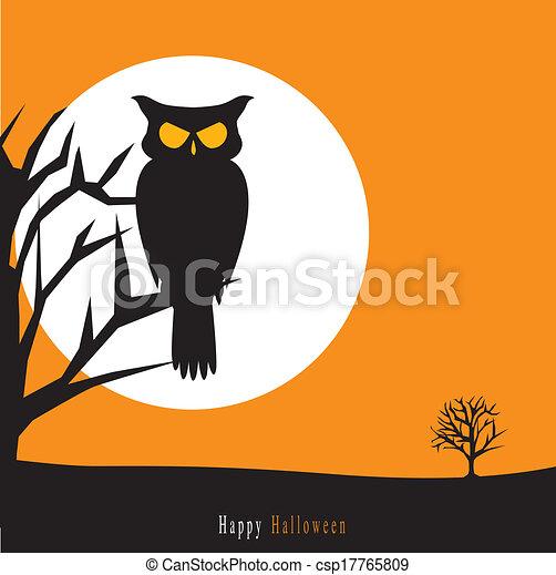 Halloween background - csp17765809