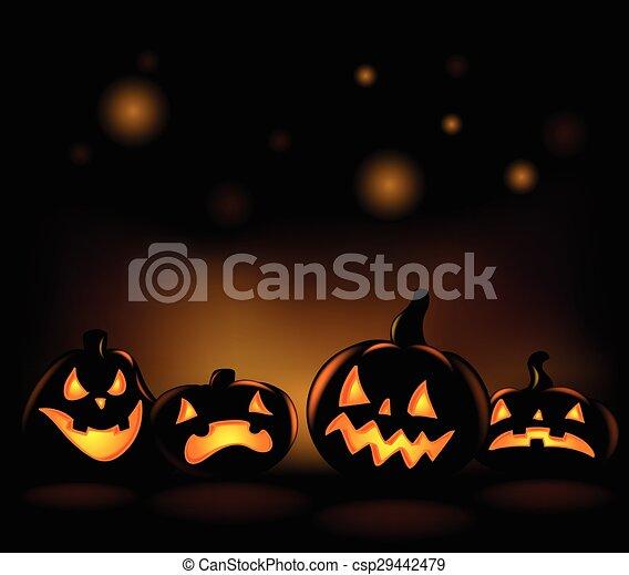 Halloween backgrounds - csp29442479