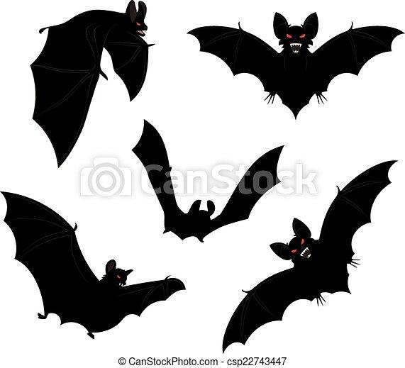 halloween bats csp22743447