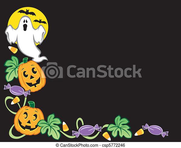 Halloween Border - csp5772246
